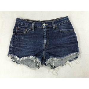 Levi's 517 Slim Fit Junior Girls 5 Jean Shorts